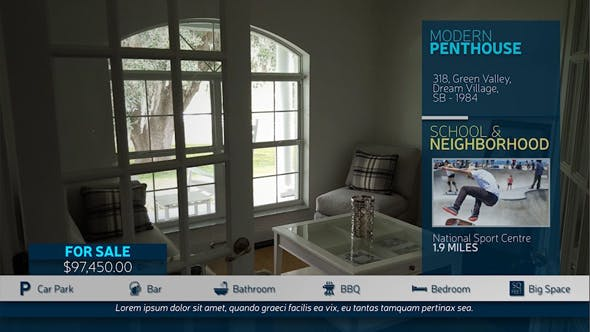Videohive Real Estate Product Display 19893900