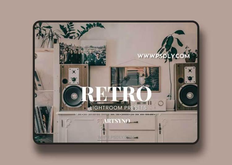 Retro Lightroom Presets Dekstop and Mobile