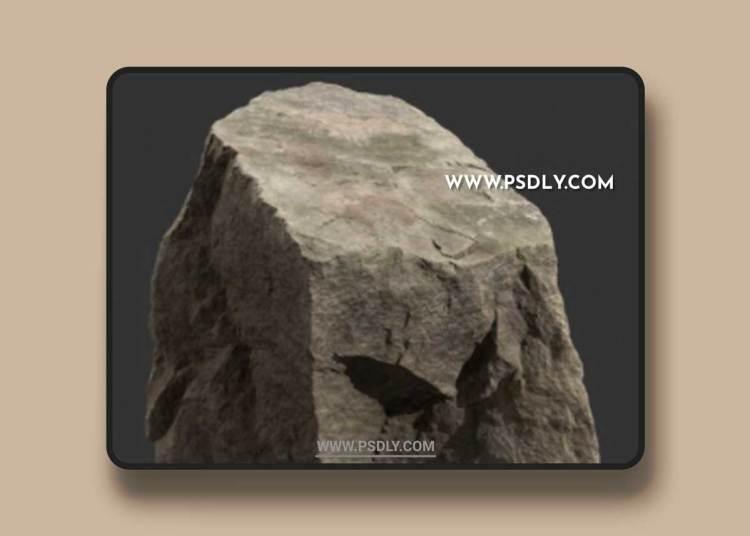 Rock Boulder Large 17