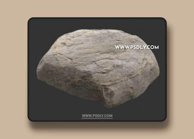 Rock Boulder Large 18