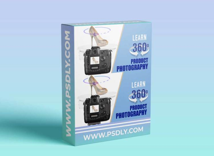 The New Way Of Product Photography - INTERACTIVE 360º PRODUCT SPIN