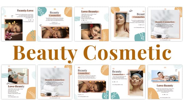 Videohive Beauty Cosmetic Instagram Post 33616114