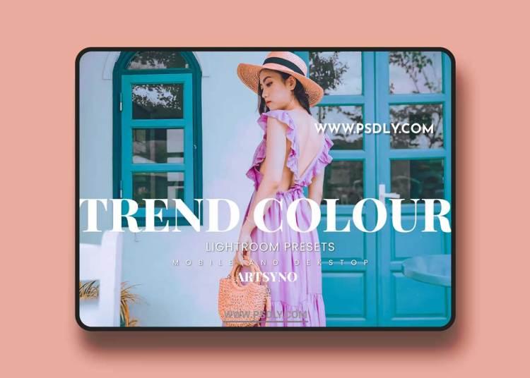 Trend Colour Lightroom Presets Dekstop and Mobile