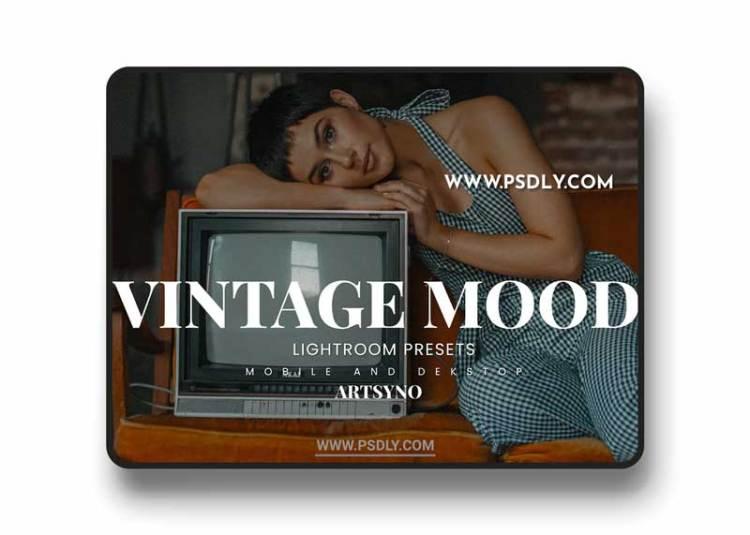 Vintage Mood Lightroom Presets Dekstop and Mobile