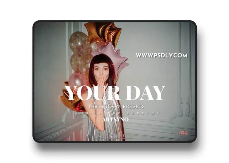 Your Day Lightroom Presets Dekstop and Mobile