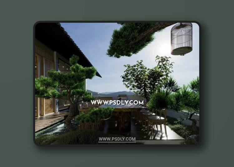 ZenHouse 3D Model