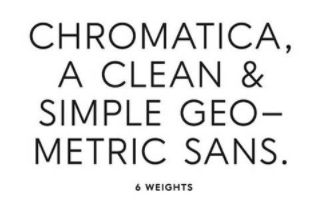 Chromatica Fonts