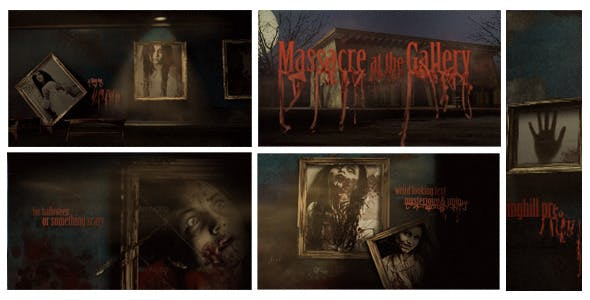 Videohive Massacre at The Gallery Opener 3267627