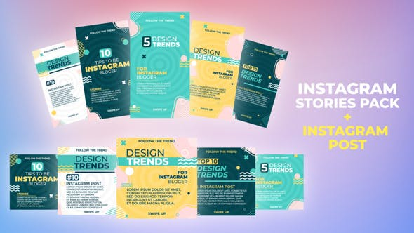 Videohive Stylish Title Stories Pack 33694425