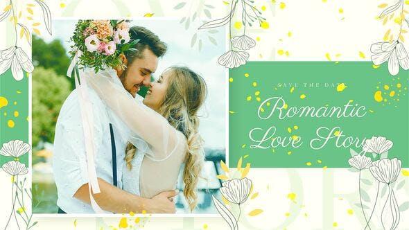 Videohive Romantic Beautiful Slideshow 34094482