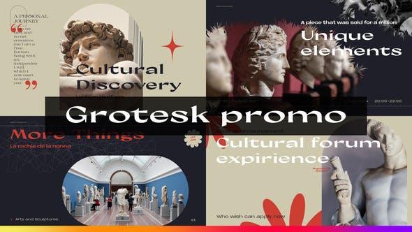 Videohive Grotesque Promo 34146141
