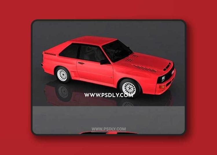 1983 Audi Sport 3D Model o93252