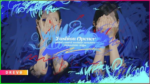 Videohive Fashion Opener/ Promo/ Slideshow/ Marketing/ Shop/ Beauty Blog/ Hand Drawing/ Brush/ Black Friday 24 34040602