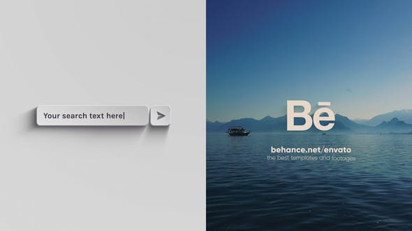 Videohive Simple Fast Search Logo - 4K 60FPS 25224099