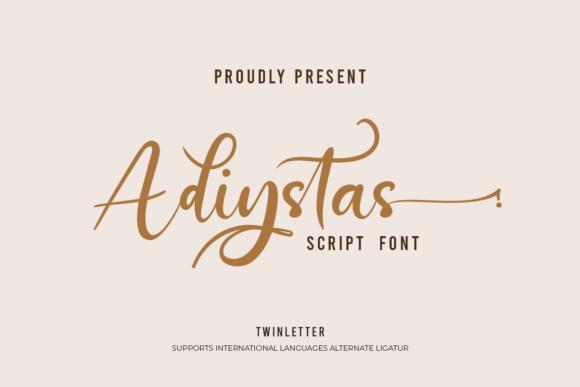 Adiystas Font