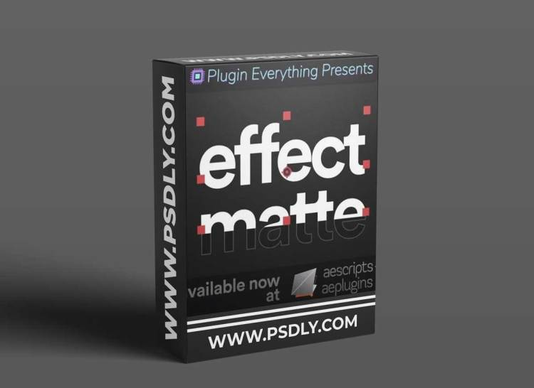 Aescripts Effect Matte v1.3.6 Win