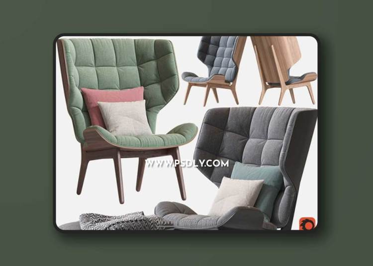 Armchair Mammoth Chair 3D Models