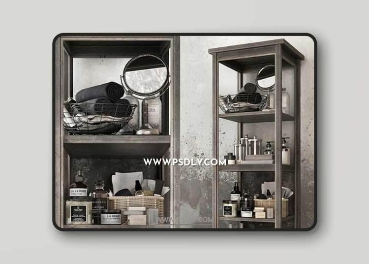 BATHROOM SET / DECOR 3D Models