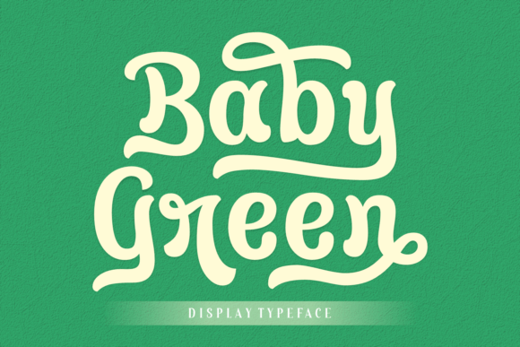Baby Green Font