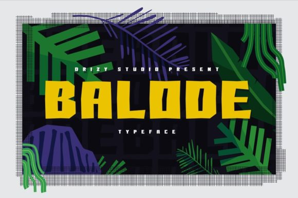 Balode Font