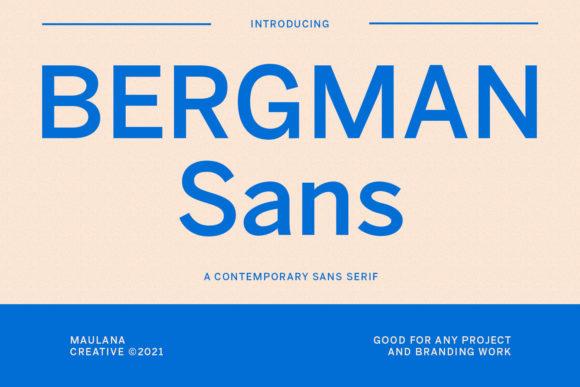 Bergman Font