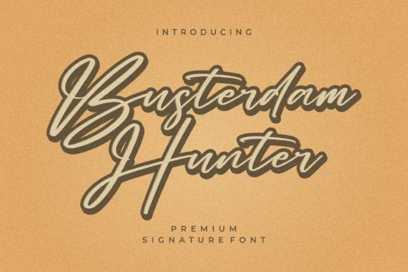 Busterdam Hunter Font