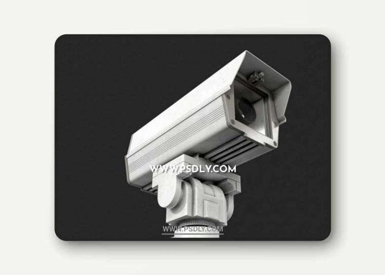CCTV Camera 3D Models