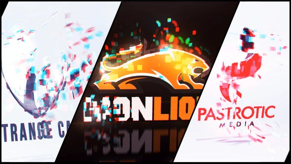 Videohive Cards Particle Logo 34115170