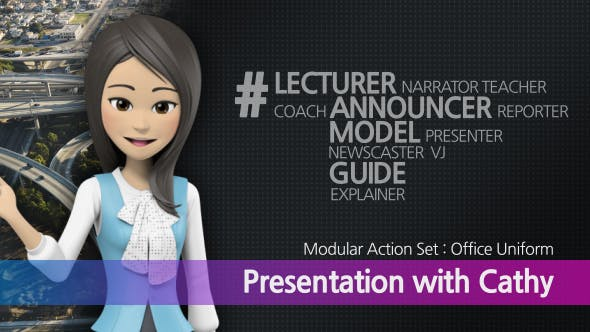 Videohive Presentation With Cathy: Office Uniform 10611291
