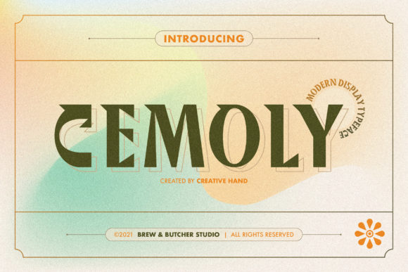Cemoly Font