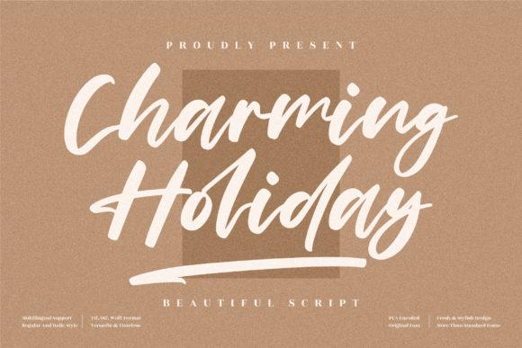 Charming Holiday Font