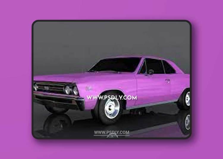 Chevrolet Chevelle SS 1967 3D Model o93688