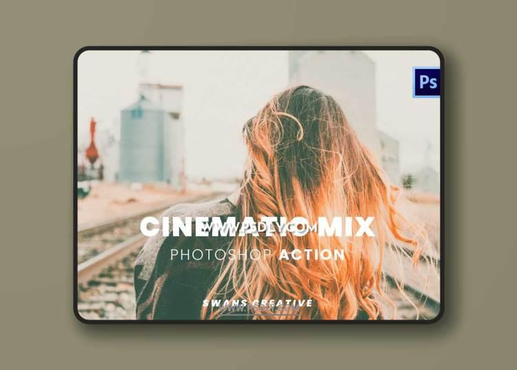 Cinematic Mix Photoshop Action