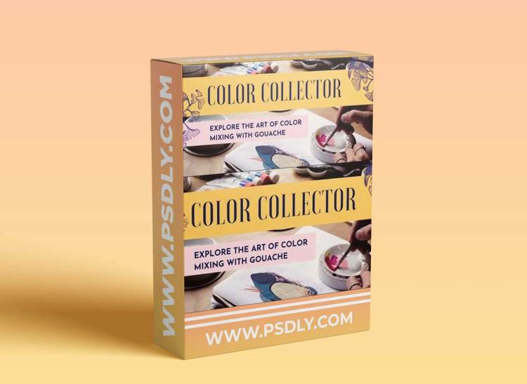 Color Collector: Explore the Art of Color Mixing With Gouache