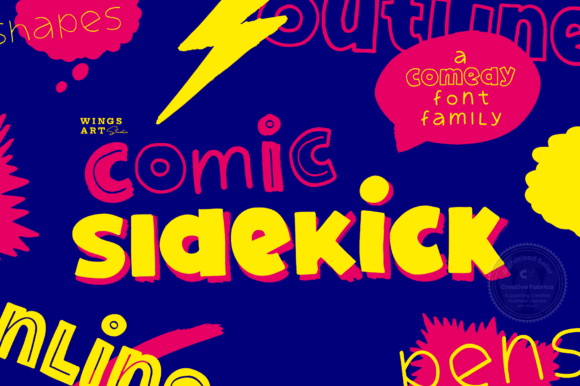 Comic Sidekick Font