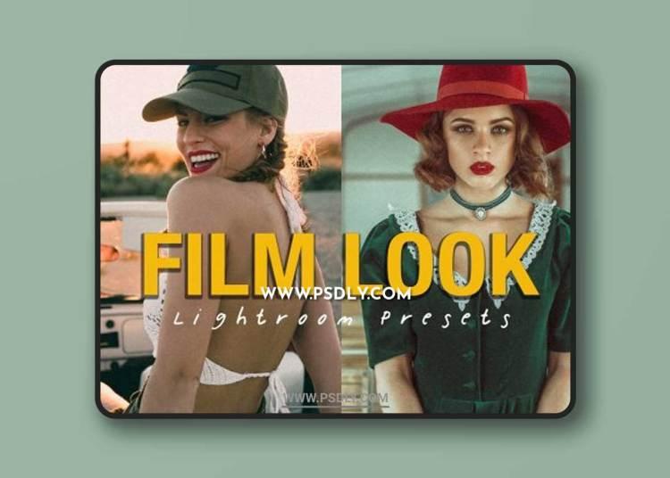 CreativeMarket - 10 FILM LOOK Lightroom Presets 6487385