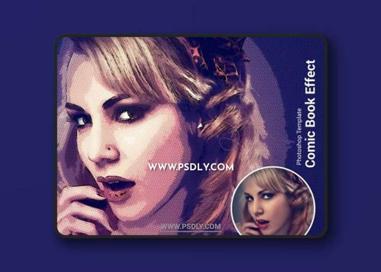 CreativeMarket - Comic Book Effect Photoshop 6318384