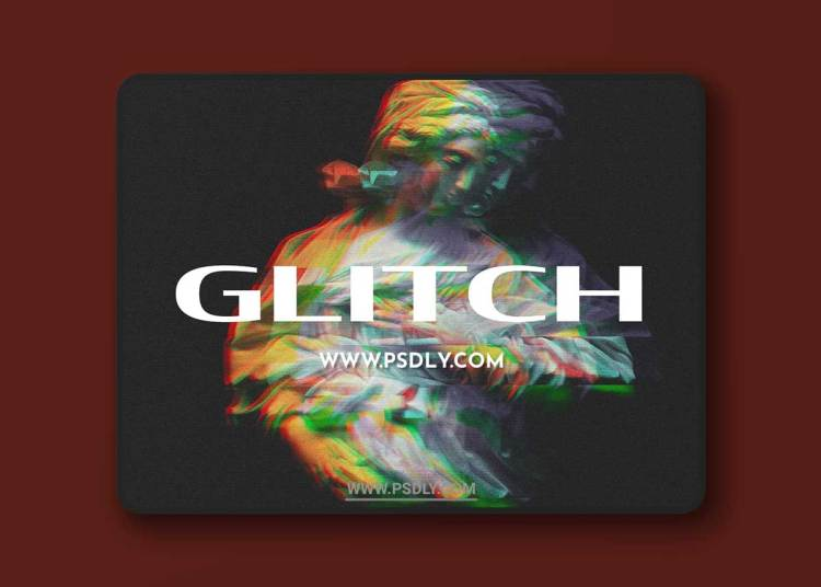 CreativeMarket - Digital Screen Glitch Effect 6469761