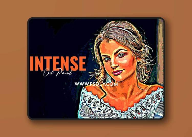 CreativeMarket - Intense Oil Paint 6523878