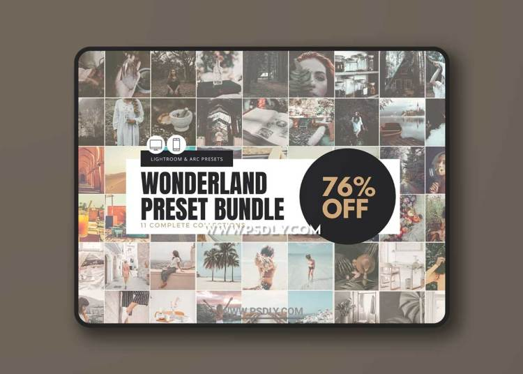 CreativeMarket - The Wonderland Preset Bundle 6333332