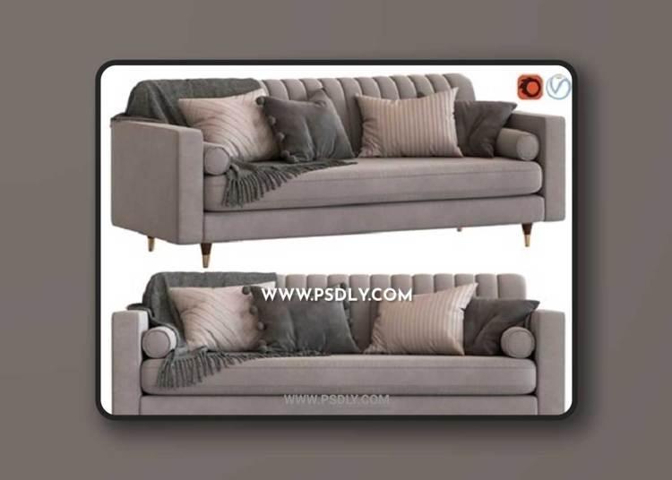 Cult Furniture Belgravia 3-Seater Sofa