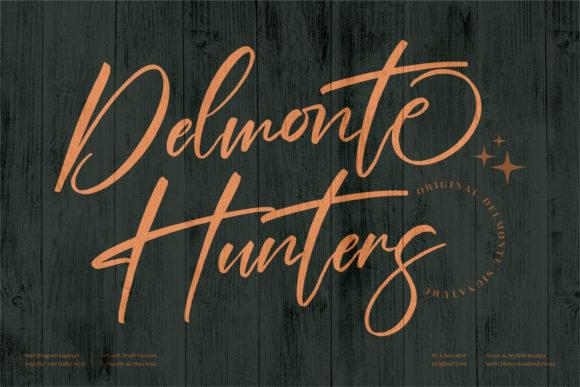 Delmonte Hunters Font