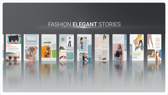 Videohive Fashion Elegant Stories 34091872