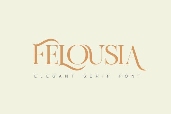 Felousia Font