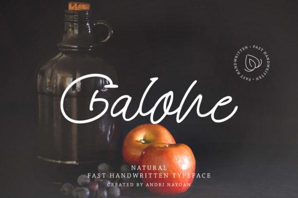Galone Font