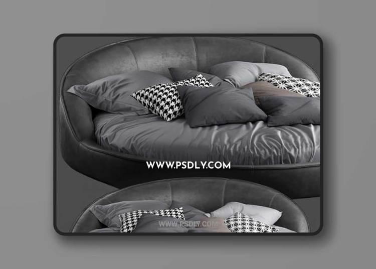 Gamma jazz bed 3D Models