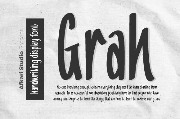 Grah Font