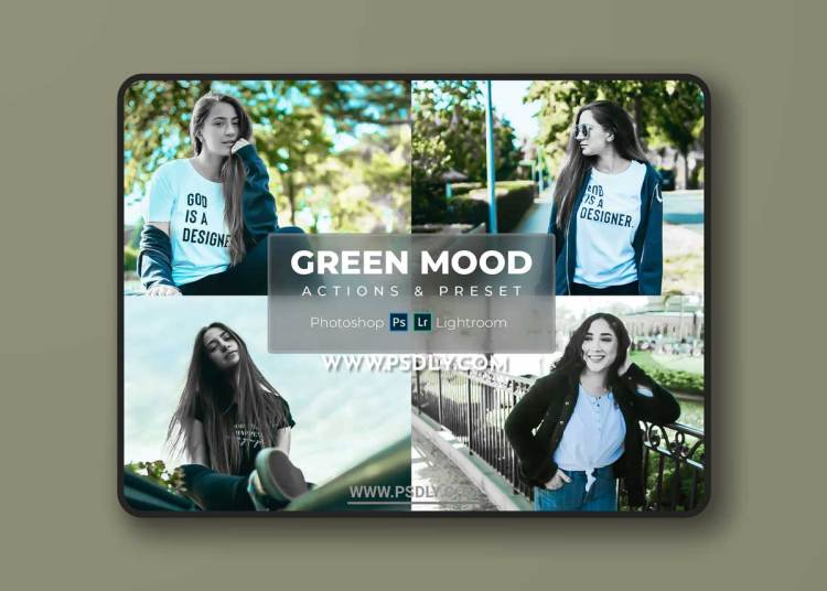 Green Mood - Preset & Actions