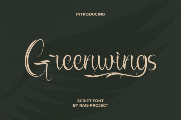 Greenwings Font