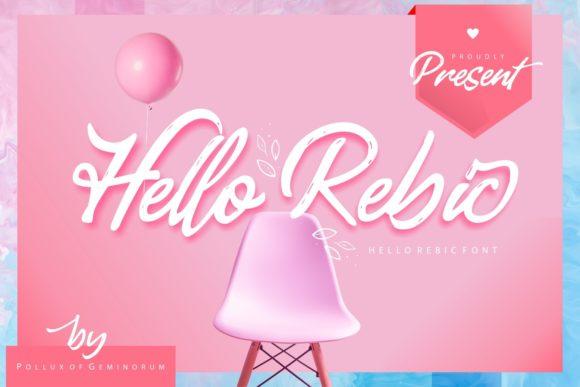 Hello Rebic Font
